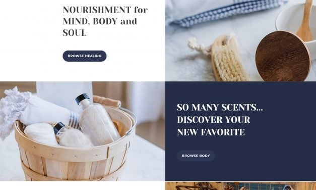 Marblehead Soap Co site launch