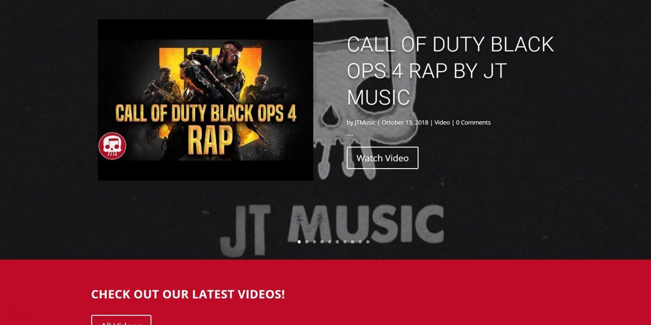 JT Music site launch