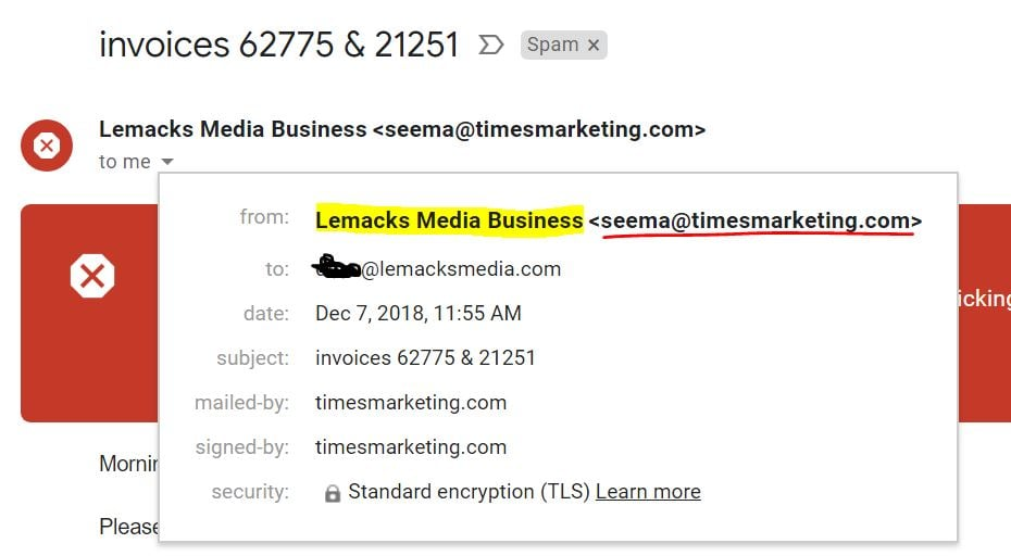 Lemacks Media Email DNS Records