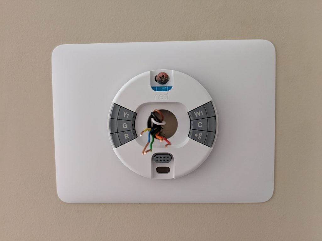 Nest Thermostat E wiring