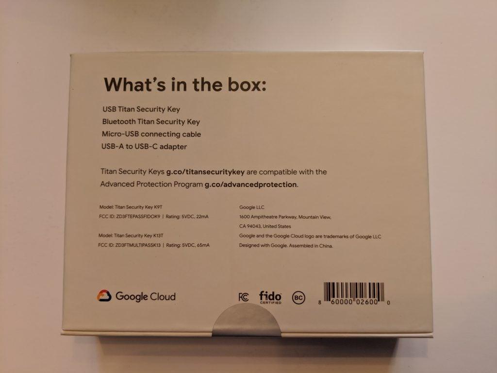 Titan Security Key Box