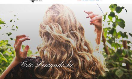 Eric Lewandoski Hair & Style site launch