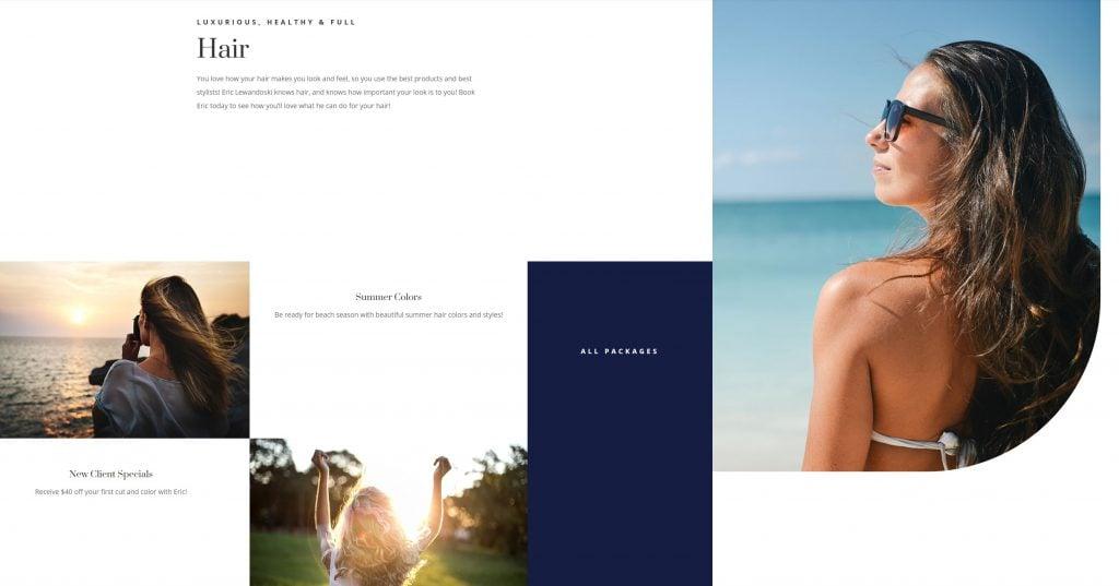 Eric Lewandoski Homepage 2