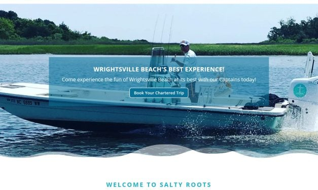 Salty Roots Fishing Charters site launch