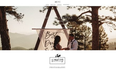 Native Roaming Photography site launch