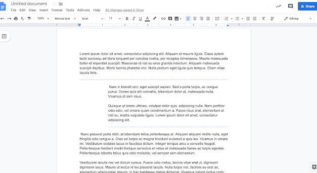 Two new formatting tools available in Docs