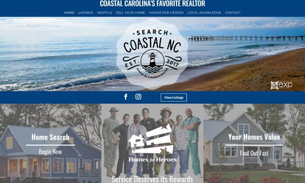 Search Coastal NC site launch